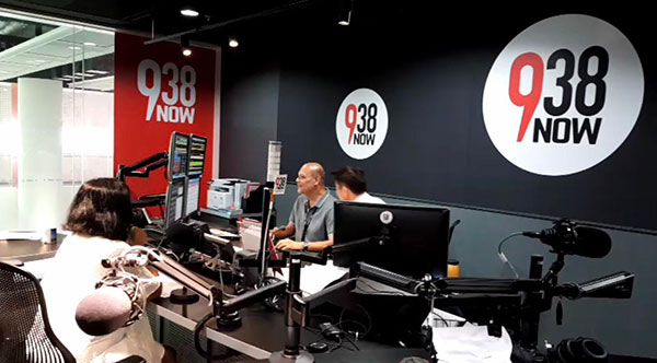 Interview on 938Now